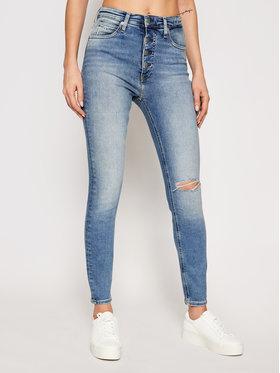 Calvin Klein Jeans Calvin Klein Jeans Blugi J20J215884 Albastru Super Skinny Fit