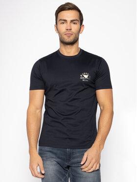 Emporio Armani Emporio Armani T-Shirt 3H1T9G 1JCQZ 0920 Granatowy Regular Fit