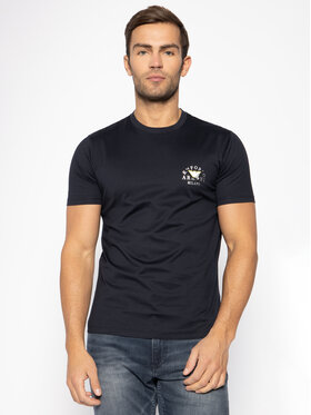 Emporio Armani Emporio Armani T-Shirt 3H1T9G 1JCQZ 0920 Tmavomodrá Regular Fit