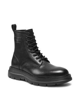 Fabi Fabi Μπότες FU0313A Μαύρο