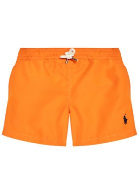 Polo Ralph Lauren Polo Ralph Lauren Плувни шорти Traveler Sho 323785582015 Оранжев Regular Fit