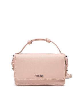 Calvin Klein Calvin Klein Дамска чанта Ck Must Flap Mini Bag W/Wallet K60K608451 Розов