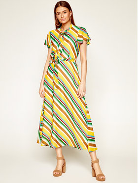 Marella Marella Sukienka letnia Cicaldi 32213502 Kolorowy Regular Fit