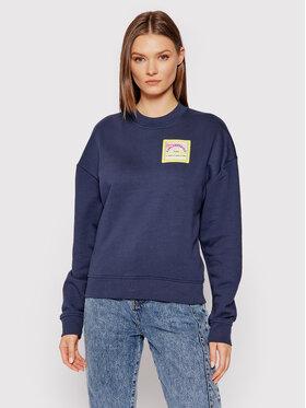 KARL LAGERFELD KARL LAGERFELD Sweatshirt Surf Patch 215W1808 Dunkelblau Regular Fit