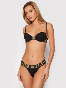 Versace Versace Liemenėlė su lankeliais Greca 1000655 Juoda