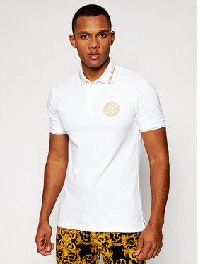 Versace Jeans Couture Versace Jeans Couture Pólóing B3GWA7T3 Fehér Slim Fit