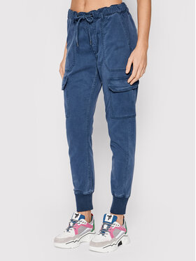 Pepe Jeans Pepe Jeans Joggery New Crusade PL211492 Granatowy Relaxed Fit