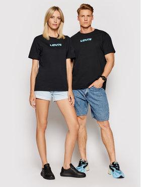 Levi's® Levi's® T-Shirt Unisex Housemark Graphic Tee A2083-0005 Černá Standard Fit