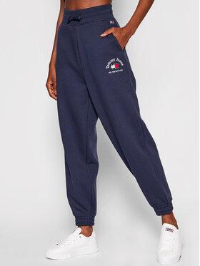 Tommy Jeans Tommy Jeans Spodnie dresowe Timeless DW0DW10345 Granatowy Relaxed Fit