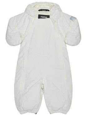 Reima Reima Βρεφικό φορμάκι εξόδου Polarfox 510357 Λευκό Regular Fit