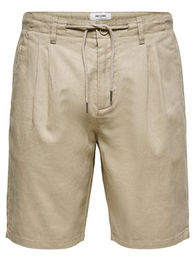 Only & Sons ONLY & SONS Pantalon scurți din material Leo 22019201 Bej Regular Fit