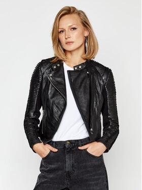 LaMarque LaMarque Veste en cuir Azra 5585 Noir Slim Fit