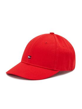 Tommy Hilfiger Tommy Hilfiger Καπέλο Jockey Bb AU0AU01075 Κόκκινο