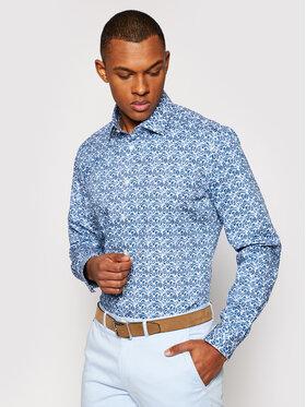 Pierre Cardin Pierre Cardin Marškiniai 4501/000/27408 Tamsiai mėlyna Slim Fit