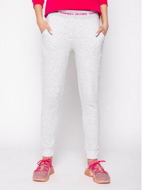 Tommy Jeans Tommy Jeans Teplákové kalhoty Tjw Branded Waistband DW0DW07803 Šedá Slim Fit