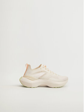 Mango Mango Sneakersy Push 17000753 Beżowy