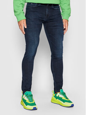 Calvin Klein Jeans Calvin Klein Jeans Skinny Fit džínsy J30J314625 Tmavomodrá Skinny Fit