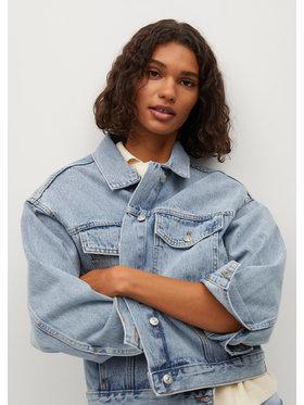 Mango Mango Kurtka jeansowa Rachel 87074017 Niebieski Relaxed Fit