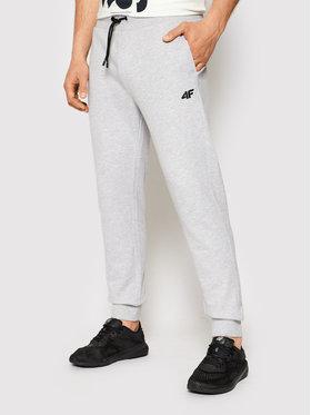 4F 4F Pantaloni da tuta NOSH4-SPMD001 Grigio Regular Fit