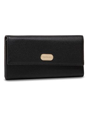 Trussardi Trussardi Nagy női pénztárca Boston Wallet 75W00261 Fekete