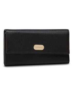 Trussardi Trussardi Portefeuille femme grand format Boston Wallet 75W00261 Noir