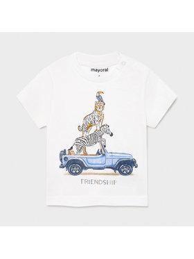 Mayoral Mayoral T-Shirt 1002 Biały Regular Fit