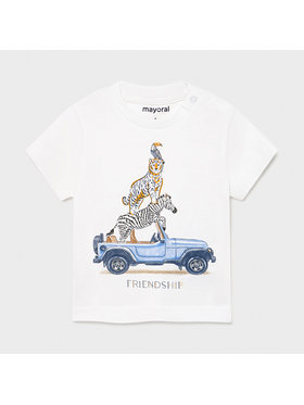 Mayoral Mayoral T-Shirt 1002 Weiß Regular Fit