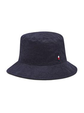 Tommy Hilfiger Tommy Hilfiger Текстилна шапка Monogram AW0AW09799 Тъмносин