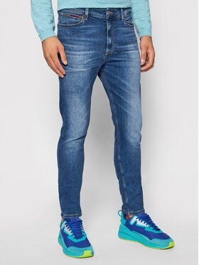 Tommy Jeans Tommy Jeans Jeansy Simon DM0DM10792 Granatowy Skinny Fit
