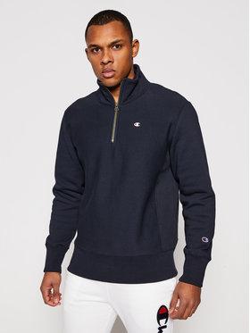 Champion Champion Džemperis Half Zip-Up 214678 Tamsiai mėlyna Custom Fit