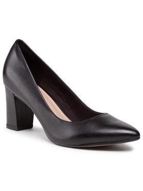 Clarks Clarks Chaussures basses Aubrie Sun 261587414 Noir