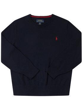 Polo Ralph Lauren Polo Ralph Lauren Πουλόβερ Spring II 322702192 Σκούρο μπλε Regular Fit