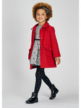 Mayoral Mayoral Cappotto di transizione 4434 Rosso Regular Fit