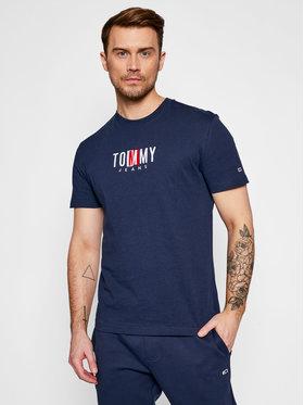 Tommy Jeans Tommy Jeans Тишърт Tjm Timeless Box Tee DM0DM10218 Тъмносин Regular Fit