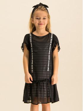 Primigi Primigi Sukienka codzienna Black Love 43113551 Czarny Regular Fit