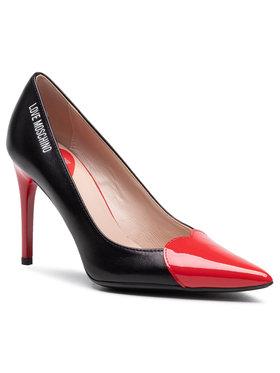 LOVE MOSCHINO LOVE MOSCHINO Pantofi cu toc subțire JA10089G1CIAR00A Negru
