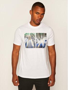 Armani Exchange Armani Exchange T-shirt 6HZTLB ZJH4Z 1100 Bianco Regular Fit