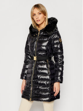 MICHAEL Michael Kors MICHAEL Michael Kors Pehelykabát MH02J8YCDF Fekete Regular Fit