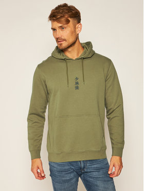Edwin Edwin Sweatshirt Shao Lin Hoodie Sweat I028535 TJ1971P MAO67 Vert Regular Fit