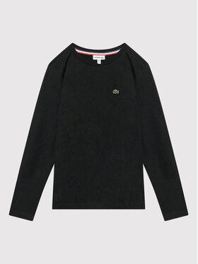 Lacoste Lacoste Bluză TJ2093 Negru Regular Fit