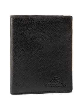 Wittchen Wittchen Velká pánská peněženka 21-1-009-10L Černá