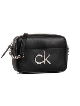 Calvin Klein Calvin Klein Дамска чанта Camera Bag W/Pckt K60K606677 Черен