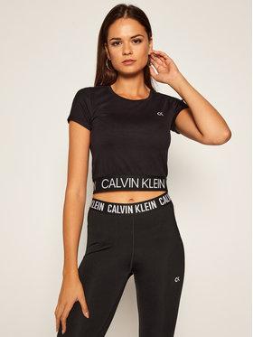 Calvin Klein Performance Calvin Klein Performance T-Shirt 00GWF0K121 Czarny Slim Fit