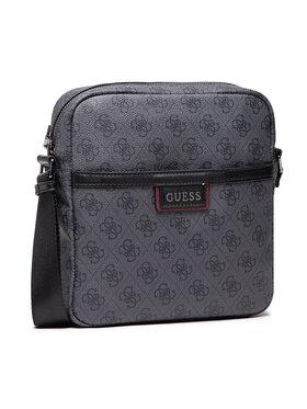 Guess Guess Мъжка чантичка Vezzola (4G PRINT) HMVEZL P1358 Сив