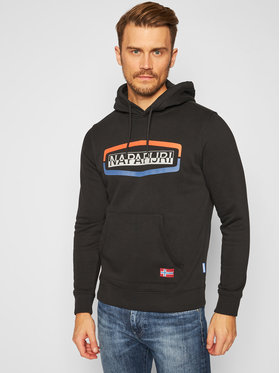 Napapijri Napapijri Sweatshirt Bogy H 1 NP0A4FDF Schwarz Regular Fit