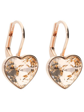 Swarovski Swarovski Сережки Bella Heart 5515192 Золотий