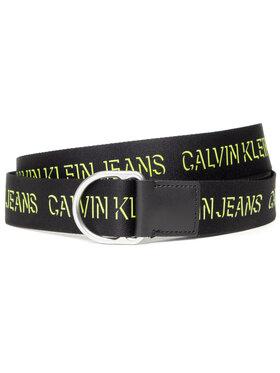 Calvin Klein Jeans Calvin Klein Jeans Dámský pásek Slider D-Ring Webbing Belt 38Mm K50K507245 Černá