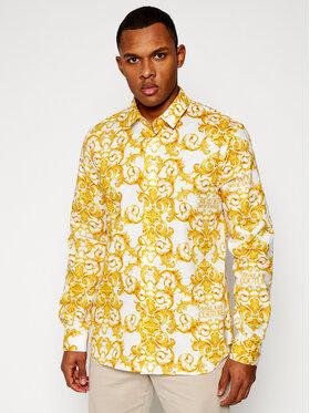 Versace Jeans Couture Versace Jeans Couture Marškiniai B1GWA6S0 Balta Slim Fit