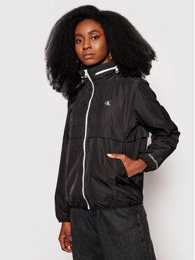 Calvin Klein Jeans Calvin Klein Jeans Bunda pro přechodné období J20J215302 Černá Regular Fit