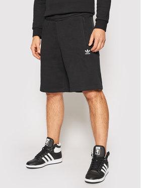 adidas adidas Sportiniai šortai adicolor Essentials Trefoil H34681 Juoda Regular Fit